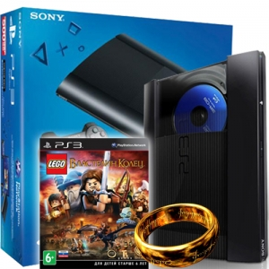 PS3 Super Slim 500GB + LEGO Властелин Колец