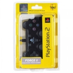"Джойстик Analog Original ""Force 2"" чёрный для Playstation 2"